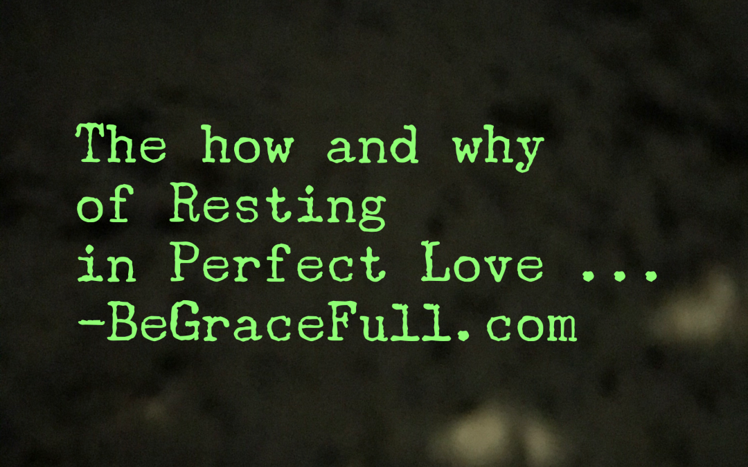 Reasons for Rest – 2